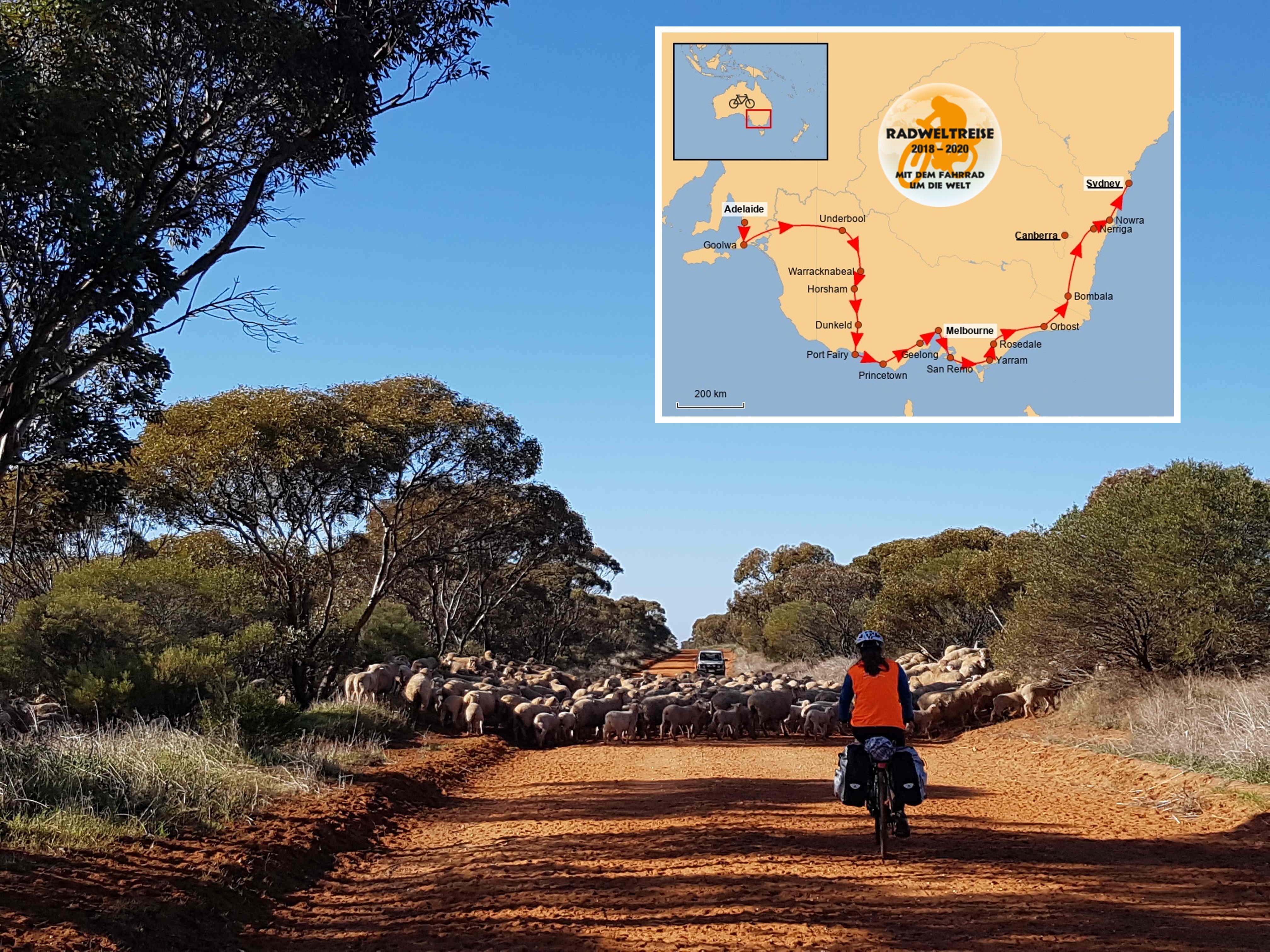 4. Etappe: Australien